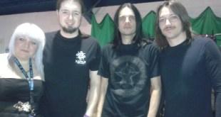 Alunah interview at Hard Rock Hell 7 – 29/11/13