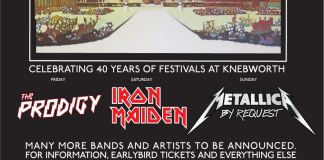 SONISPHERE 2014 announce The Prodigy to join Iron Maiden & Metallica