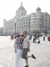 Us at the Taj Hotel