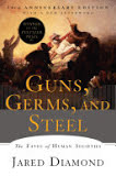 the cover of Guns, Germs, and Steel