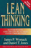 the cover of Lean Thinking