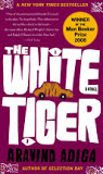 the cover of The White Tiger
