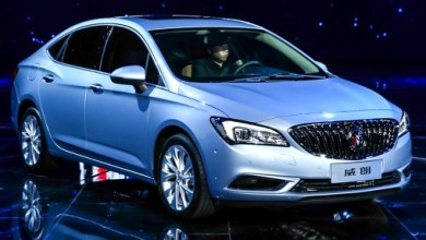 Photo of The debut of the new Buick Verano sedan took place in Shanghai