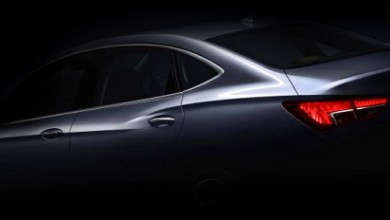 Photo of Buick Verano sedan got the first teaser