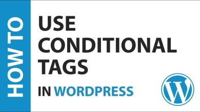 Photo of Conditional Tags in WordPress