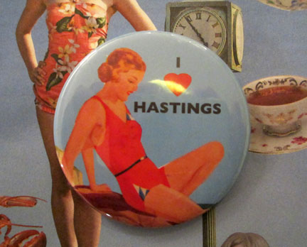 I love Hastings badge