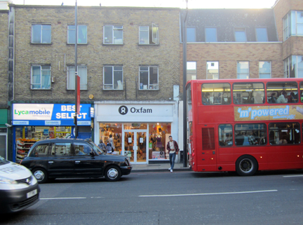 Camden High Street Oxfam D I Y store