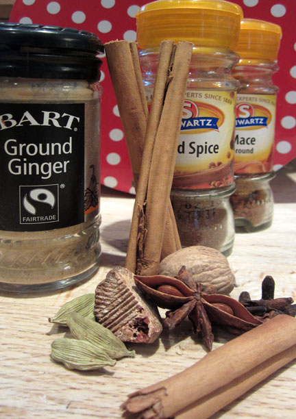 Mixed Spices for Avent Calendar Day 18