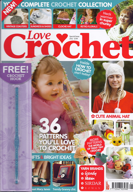 Love Crochet magazine - Advent Calendar Day 9