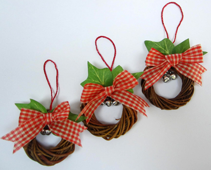 Christmas Tree Twigs Rings for Advent Calendar day Twelve