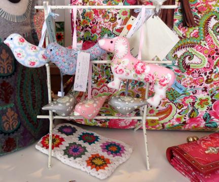 Fabric dachshunds - serendipity