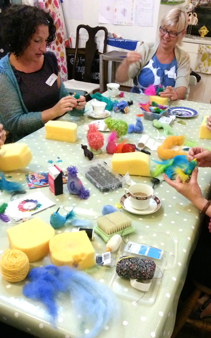 Needlefelt Workshop, Arts Desire