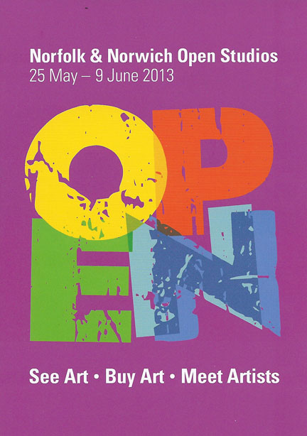 Norfo0lk and Norwich Open Studios Poster
