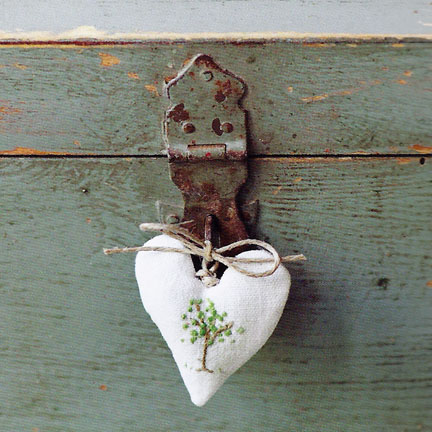 Heart Key Fob - The Hand-Stitched Home