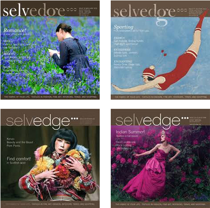 Selvedge Magazine covers