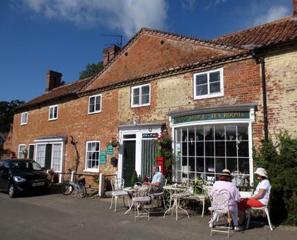 Tea rooms, Heydon - Little Vintage Lover Fair