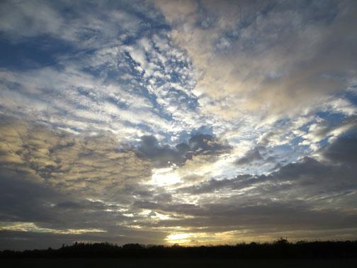 Norfolk Sky November