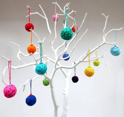 yarn balls Christmas countdown day 2