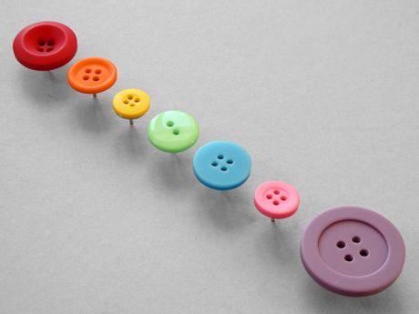button thumb tacks - Christmas Countdown Day 6