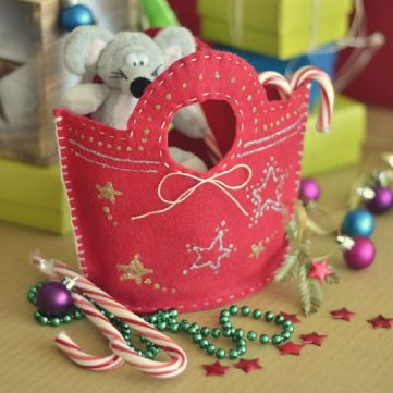 Gift Bag Christmas Countdown
