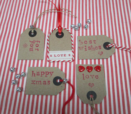 Christmas Countdown - Day 7 - Gift tags