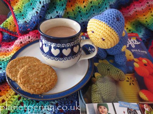 dinosaur - crochet in Planet Penny Cotton