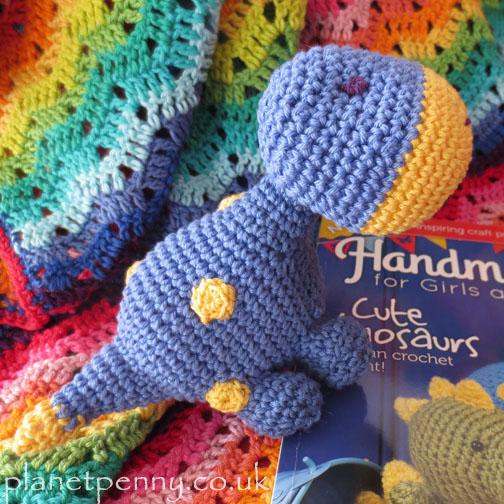 crochet dinosaur - Planet Penny Cotton
