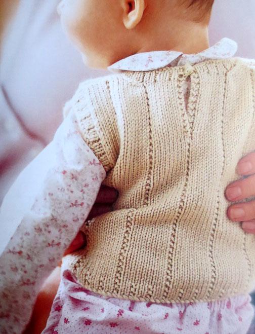 baby knits - tanktop Debbie Bliss