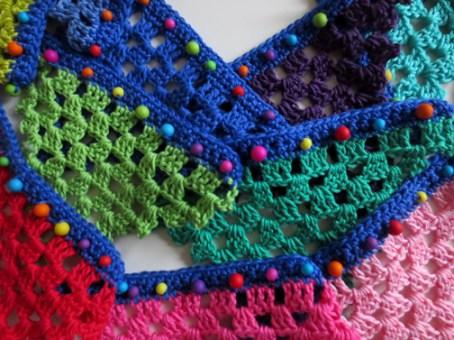 Crochet Beaded Bunting - Planet Penny Yarn