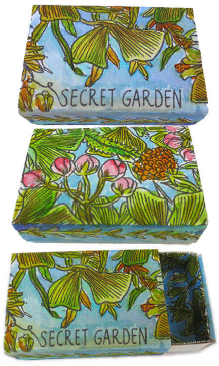 Secret Garden Matchbox - Flow