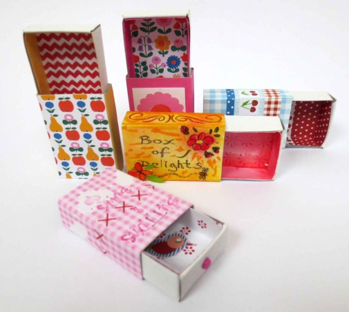 covered match boxes - Flow Magazine
