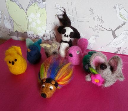 Art's Desire, Needlefelt workshop