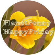 Happy Friday Button 180px