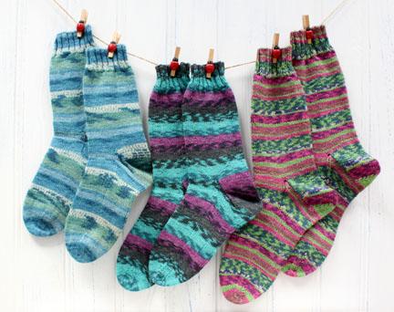 socks knitting