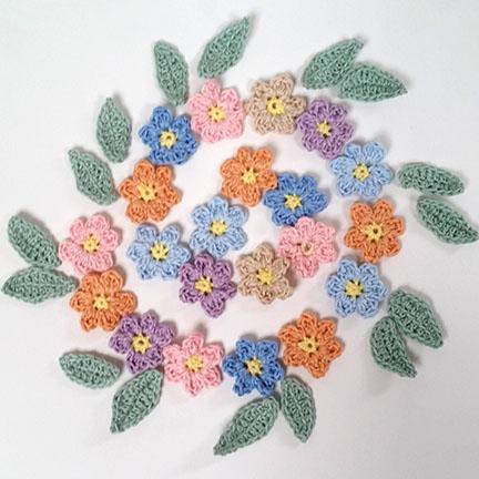 Crochet Butterfly & Flower Mobile - pattern & yarn from Planet Penny