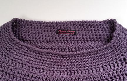 crochet sweater crib sheet - crochet a sweater without a pattern
