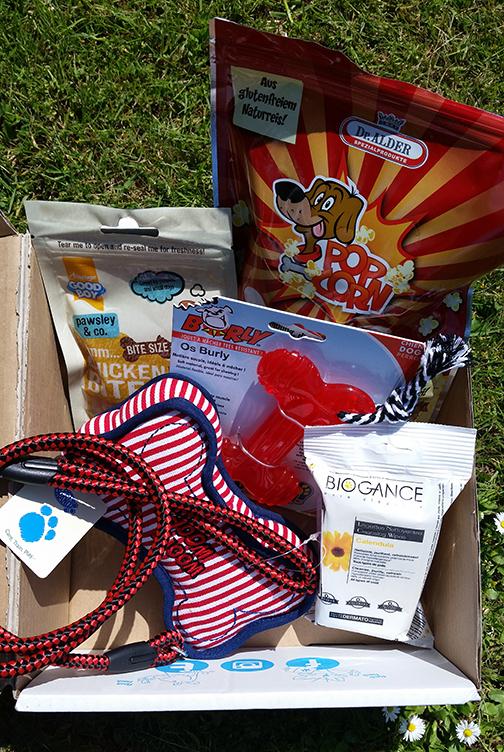 Pawsome box contents