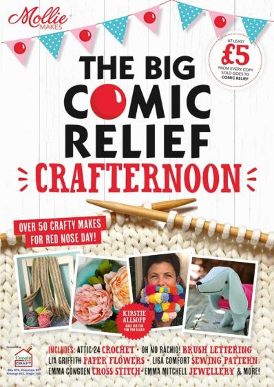 big comic relief crafternoon