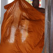That Easy Everything Orange that Buddhist Monks wear round here