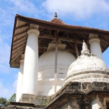Dagaba of the Gadaladeniya Temple outside Kandy