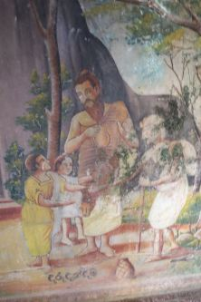 Frescos from the Gadaladeniya Dagaba