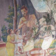 Frescos from the Gadaladeniya Dagaba
