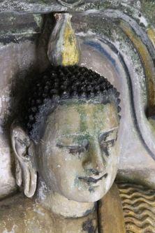 Buddha face - Gadaladeniya