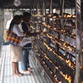 Votives at Temple
