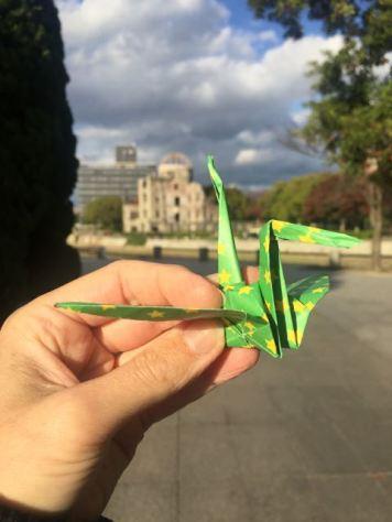Origami 'Peace' Crane
