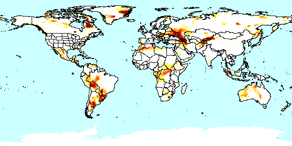 Drought mapserv