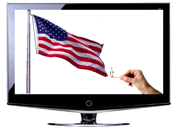 Watch Current TV or We'll Burn This Flag!