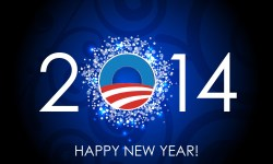 Happy New Year Obama 2014