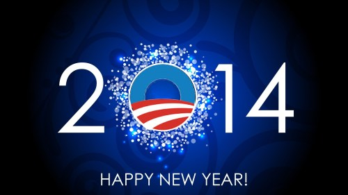 Happy New Year Obama 2014