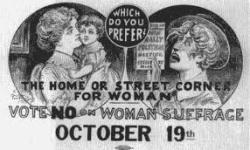anti-woman sufferage
